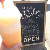 Little Freshie (4.5 stars, 66 reviews)This fun little spot offers snow cones, floats and sodas all made with fresh ingredients in the West-side neighborhood. Perfect treats for cooling down and taking a break.