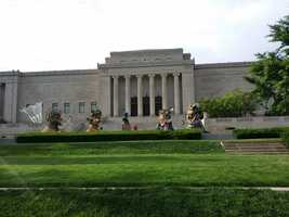 The Nelson-Atkins Museum of Art (5 stars, 221 reviews) The Nelson comes in as one of Yelp's highest rated spots in KC. This beautiful museum is an excellent way to spend the day out of the heat.