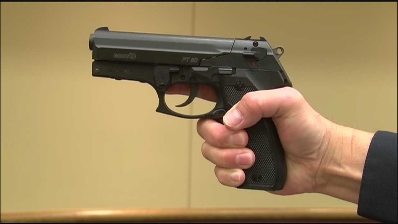 Grain Valley police want to send a message about the real dangers of fake guns.