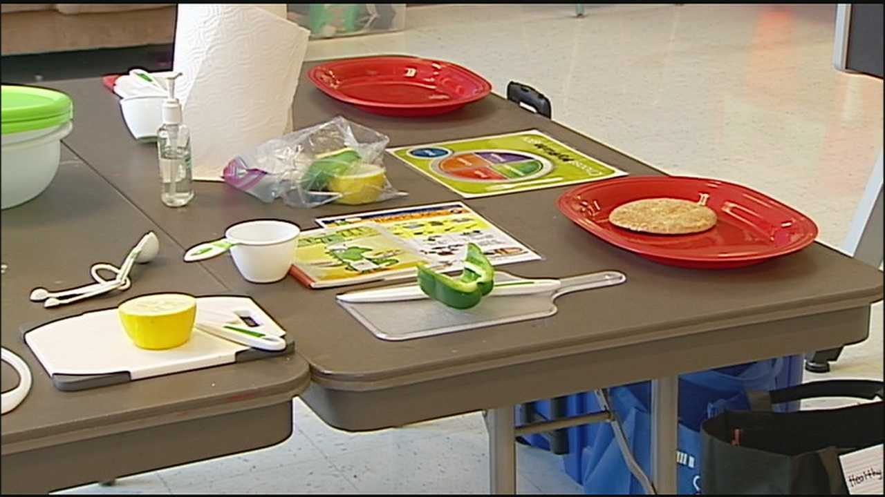 A Kansas City group hopes to teach children the value of cooking and nutrition at a young age.