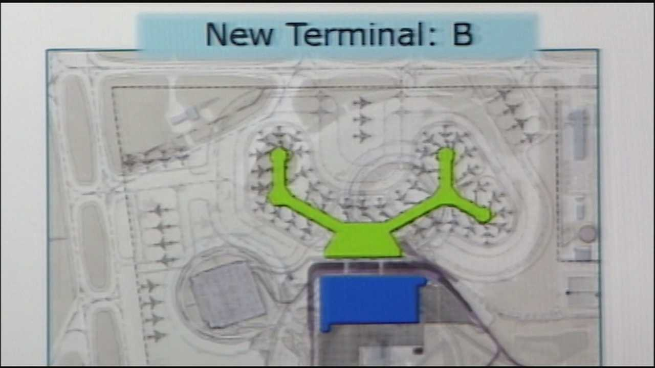The seven major airlines that use Kansas City International Airport said a new terminal, not a renovated one, would be better and cheaper.