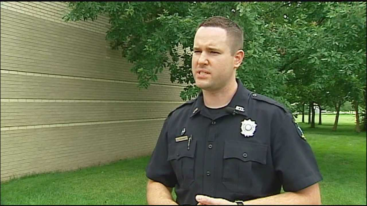 An Overland Park police officer goes above and beyond to help a family in crisis.