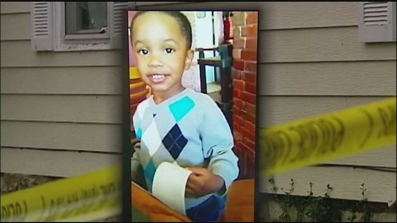Prosecutors charge a man with murder in the drive-by shooting that killed a 3-year-old boy, and the victim's father says he never lost faith that police would solve it.