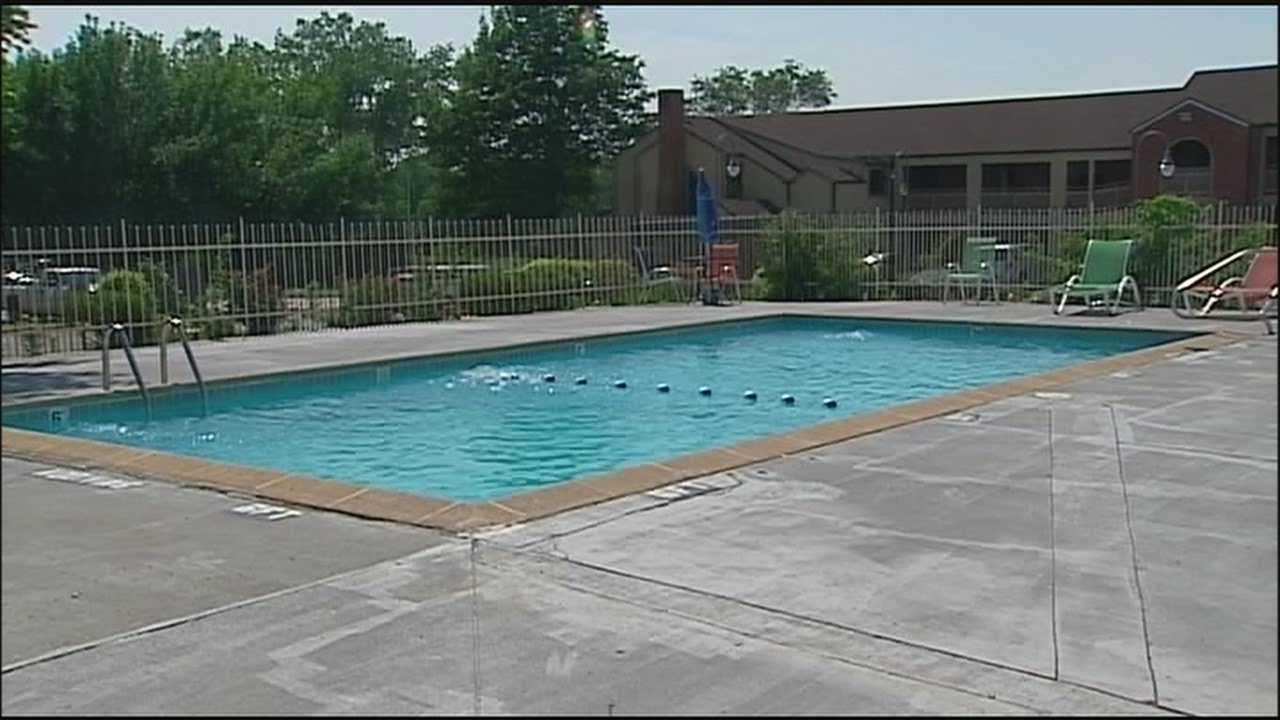 Officials have shut down a motel pool where a child drowned Friday evening after inspectors found numerous violations.
