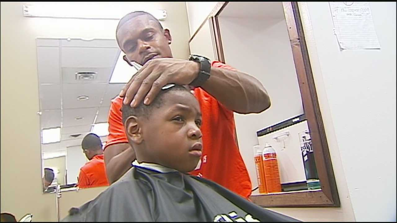 Heading back to school can mean a lot more than picking up some much needed supplies. Some generous barbers are helping students return to class with a fresh cut.