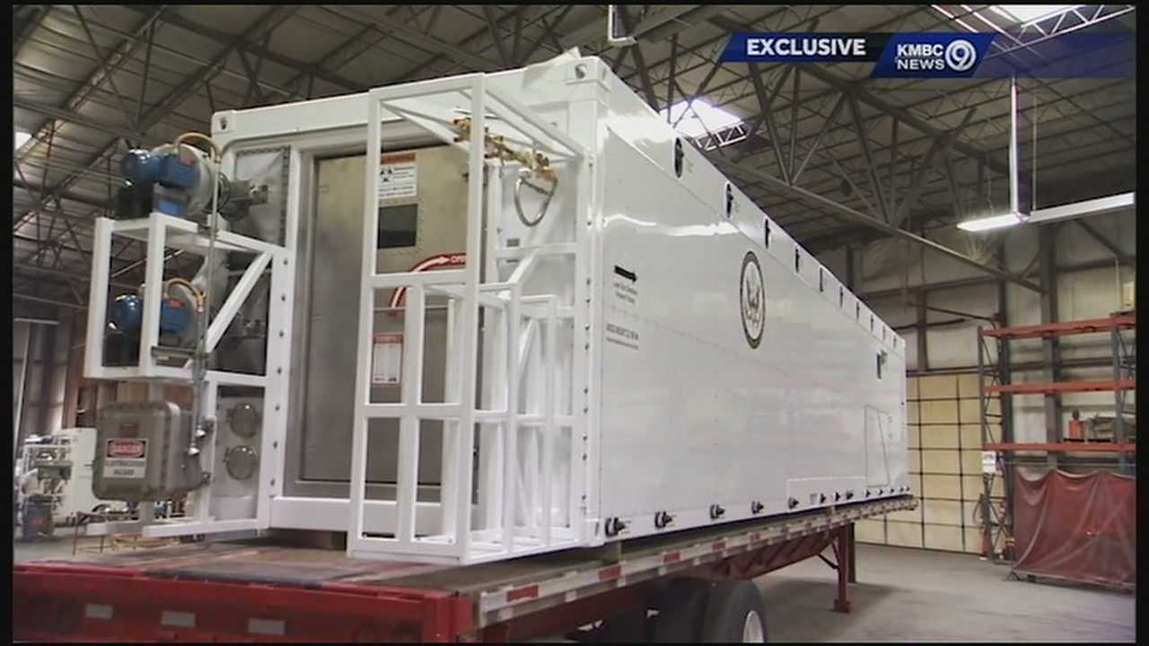 A new piece of equipment, created by a Kansas City company, was built to save lives and prevent the spread of such contagious diseases as Ebola.