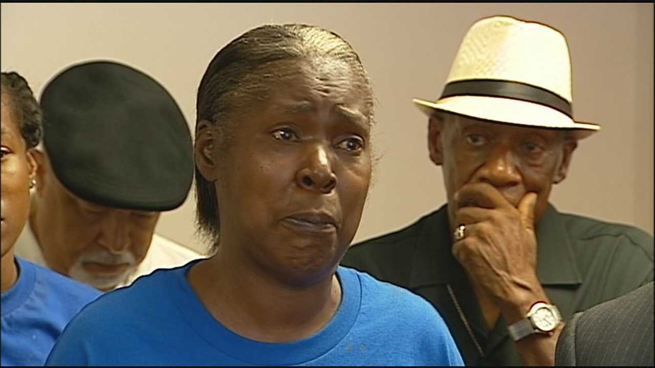 The family of a man whose funeral was interrupted by a double shooting over the week asks the public to help find whoever is responsible.