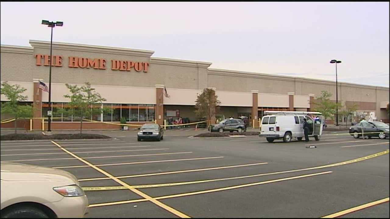 A confrontation with burglary suspects near a Home Depot at 135th and Hemlock streets ends when shots are fired.