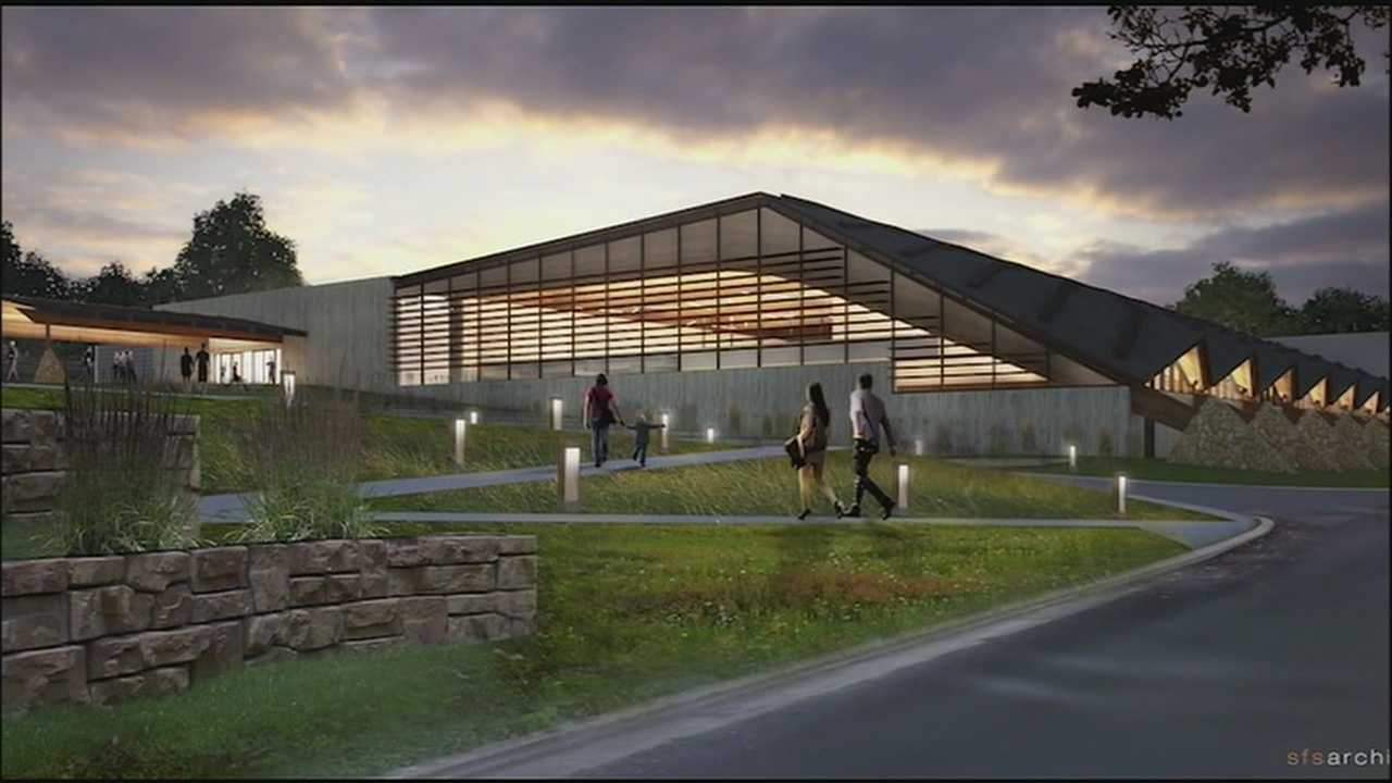Some Johnson County residents are getting their first good look at plans for the county's new arts and heritage center.