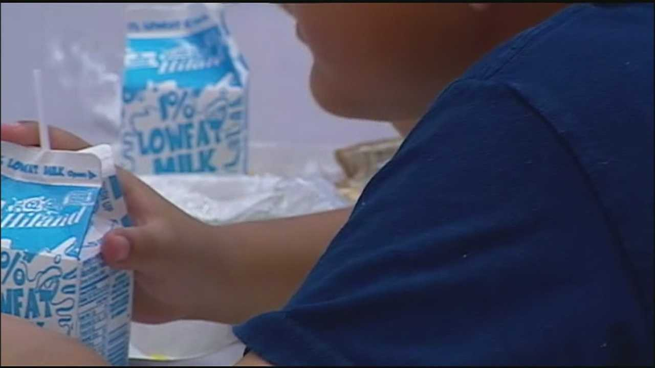 Kansas City, Kansas, Public Schools launches a new program Tuesday where 13,000 students in the district will get a free breakfast and lunch.