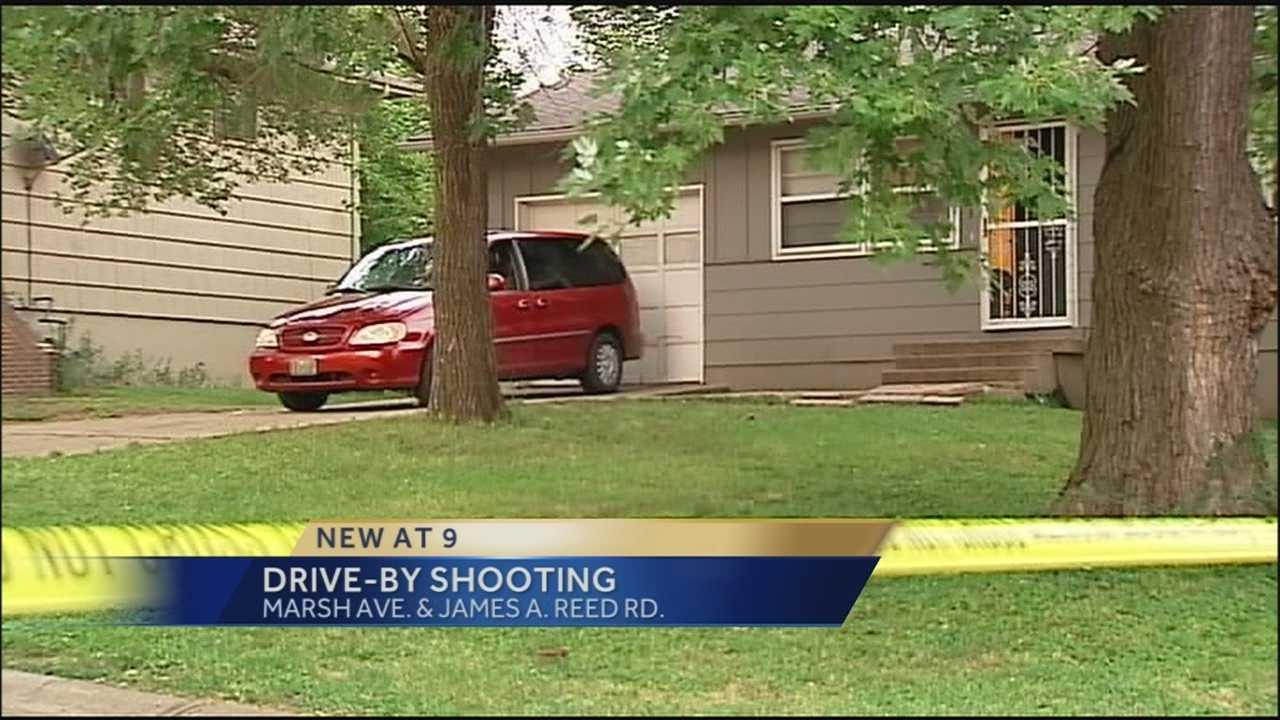 An argument and shooting on a street in southeast Kansas City send a bullet into a house, hitting a grandmother who was inside.