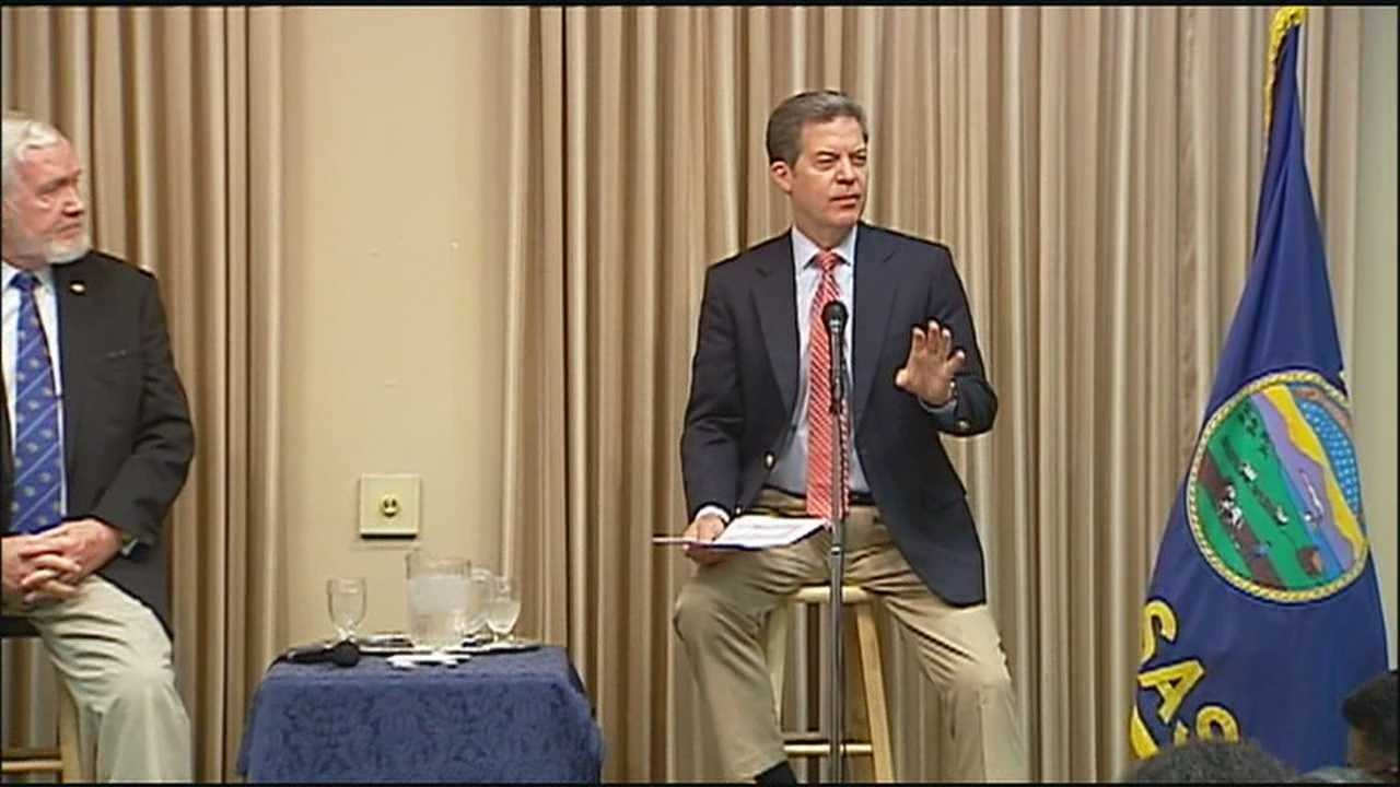 Kansas Gov. Sam Brownback says the idea of moving some Guantanamo Bay terror detainees from Cuba to Fort Leavenworth is asking for disaster.
