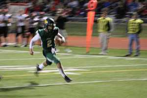 Each team exchanged touchdowns to begin the second half. The Lansing Lions looked eager for a comeback late in the third quarter. Basehor-Linwood essentially shut the door with another rushing touchdown from its quarterback. The Bobcats win, 28-6.