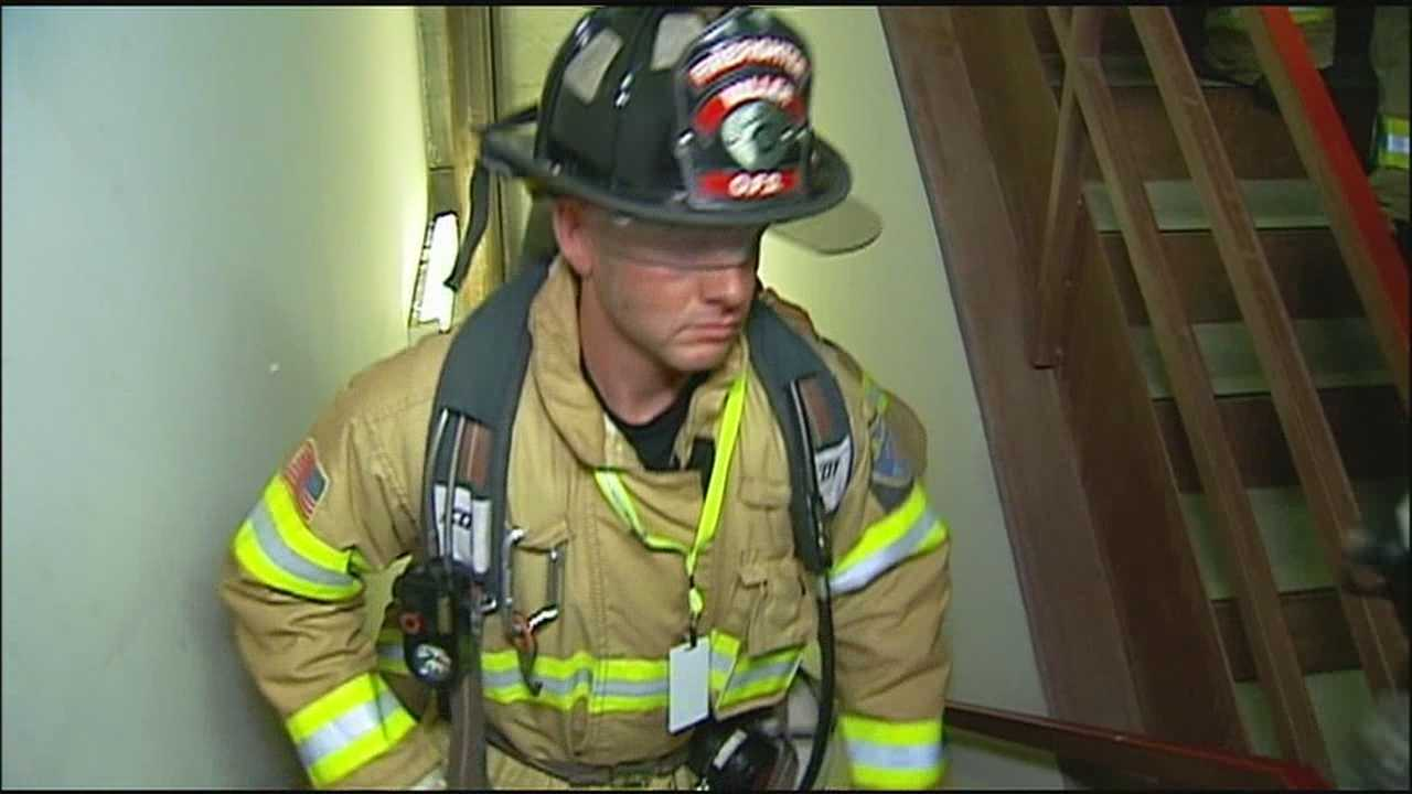 An event to remember those who died in the Sept. 11, 2001, terrorist attacks took on a new meaning at the Kansas City Stair Climb commemorative event.