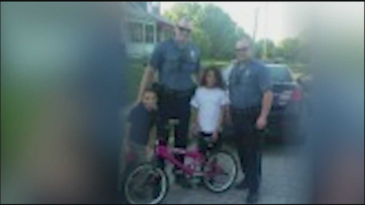 Bikes get stolen all the time, a crime that doesn't often make the news. But two Kansas City, Missouri, police officers are getting attention for the way they handled a recent case.