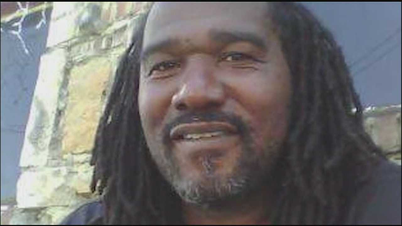 A vigil in Kansas City Monday evening honored a slain man who was remembered as a gentle giant.