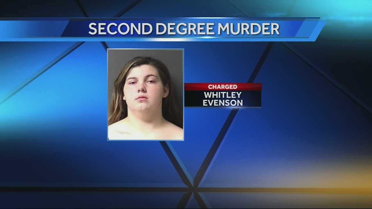 A 17-year-old Independence mother made her first court appearance Wednesday on charges she murdered her infant son.