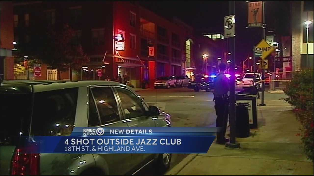 Kmbc 9 News >> Police: 4 shot outside 18th & Vine jazz club