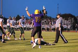 The Spring Hill Broncos answered the bell, capping a lengthy drive with a touchdown. That possession was propelled by a deep connection between quarterback William Lovetinsky and wide receiver Nathan Ewing.
