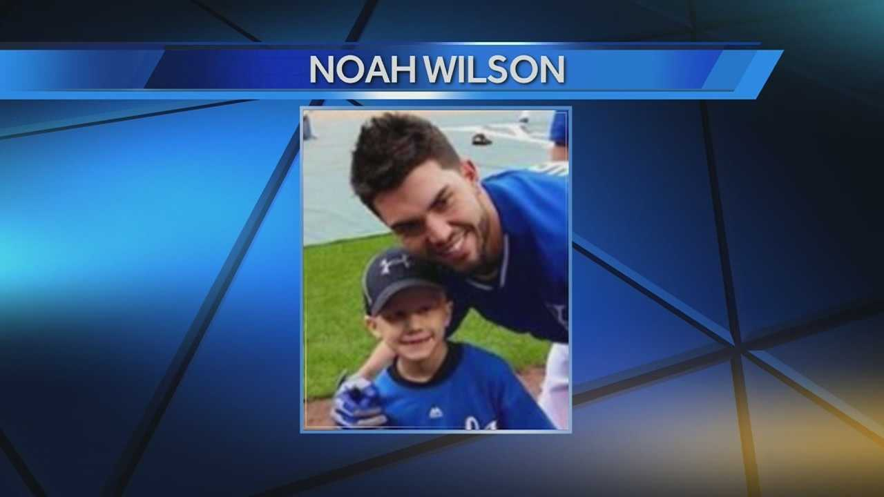 A young fan who was a big part of the Royals run in the postseason last year is being remembered this October.