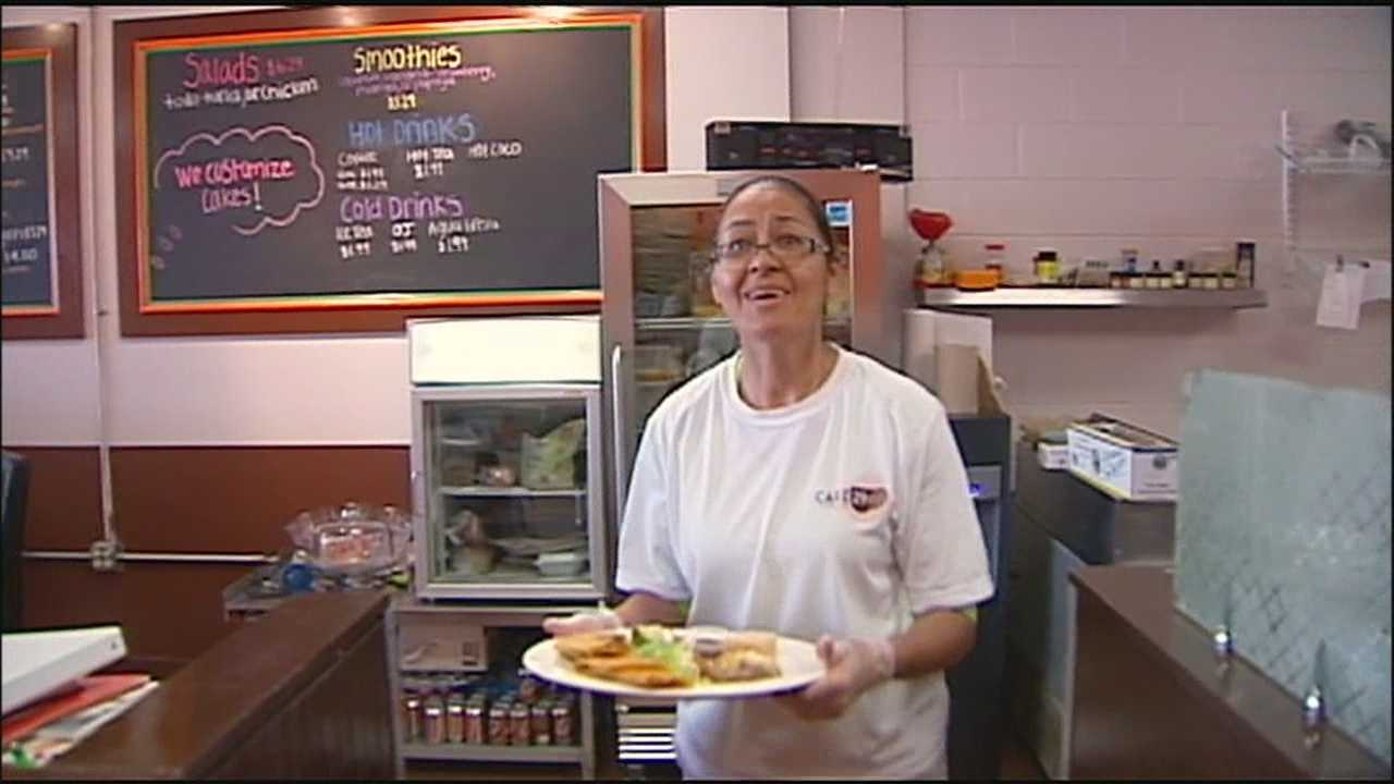 A Kansas City-area mother who opened a café to help keep one of her late son's dreams alive has learned that she might lose the business.