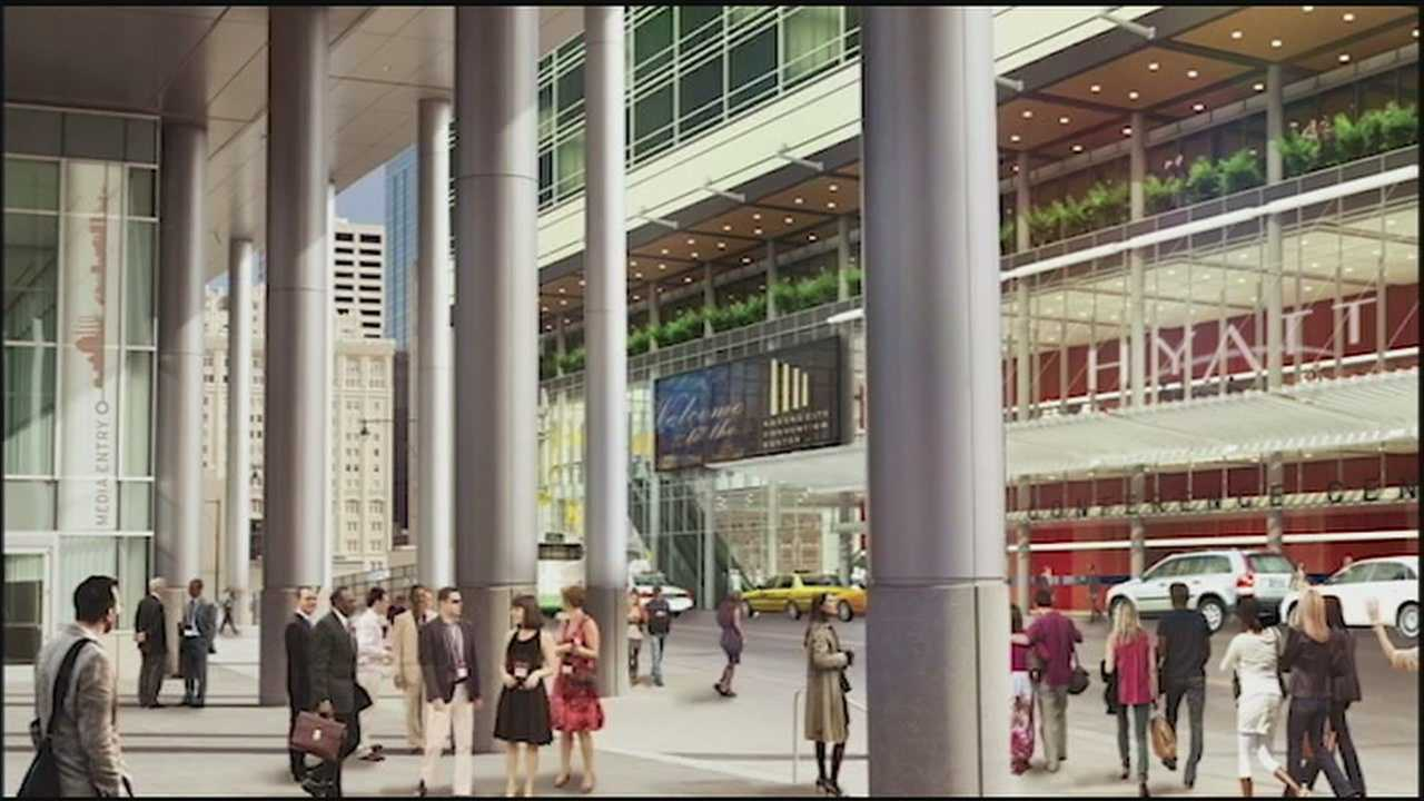 Kansas City's City Attorney is advising the city council to proceed with plans to build a downtown convention center hotel or risk being in breach of contract with developers