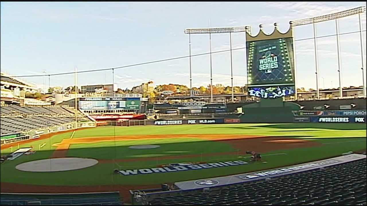 With the Royals having home field advantage in the World Series for the second year in a row, Kauffman Stadium will be back in the global spotlight.