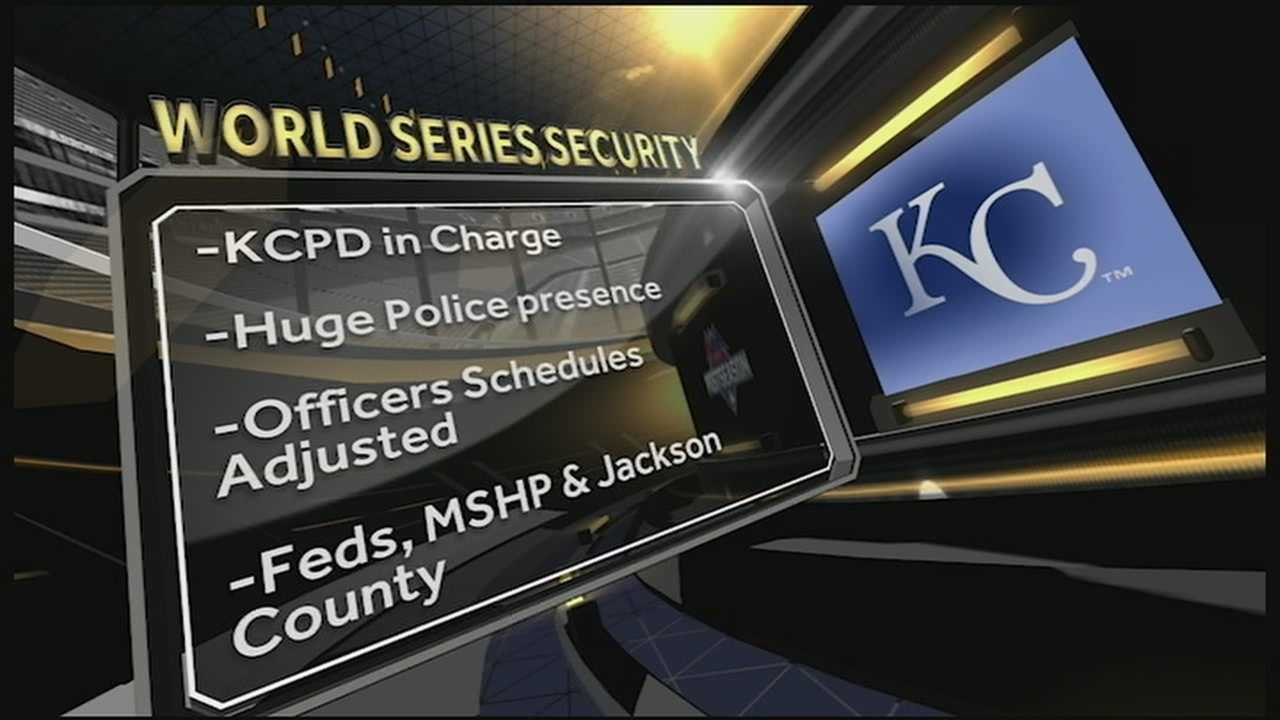 The World Series is truly an international event and security at Kauffman Stadium and throughout Kansas City needs to be world-class.
