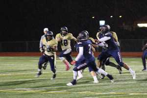 The Chrisman Bears struggled to move the ball on offense early.