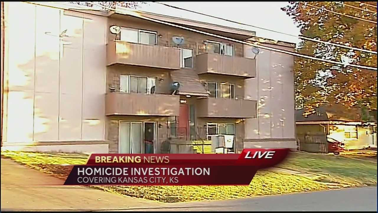 Police are investigating the shooting death of a man in a Kansas City, Kansas, apartment as a homicide.