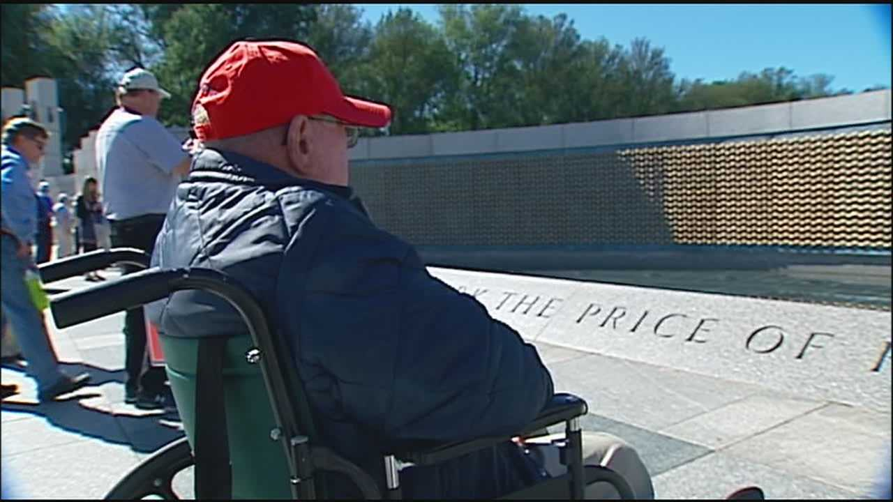 Honor Flight takes veterans on emotion-filled journey