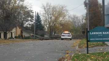 Tree down in Lawson, mo.