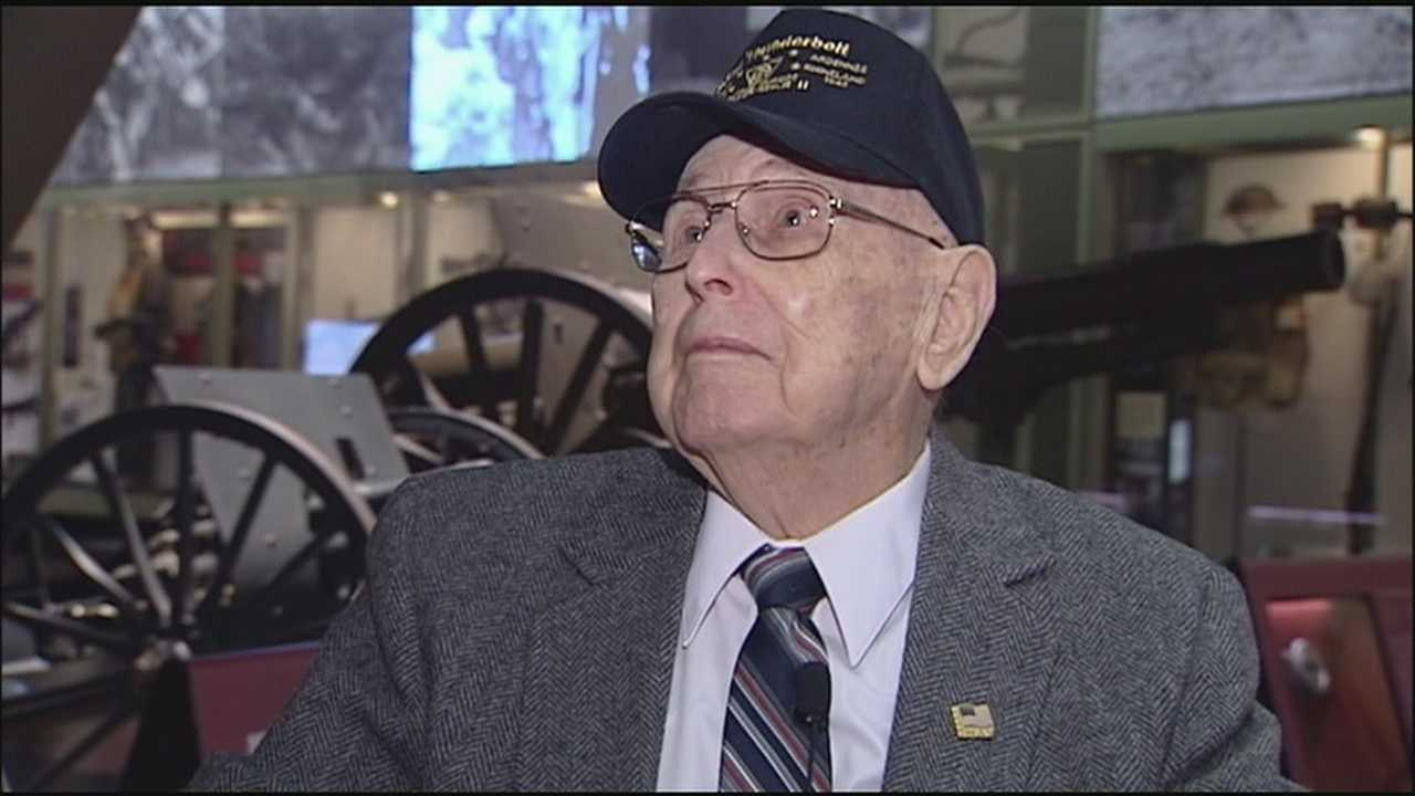 Three Kansas City-area men received special decorations for their service in World War II Wednesday.