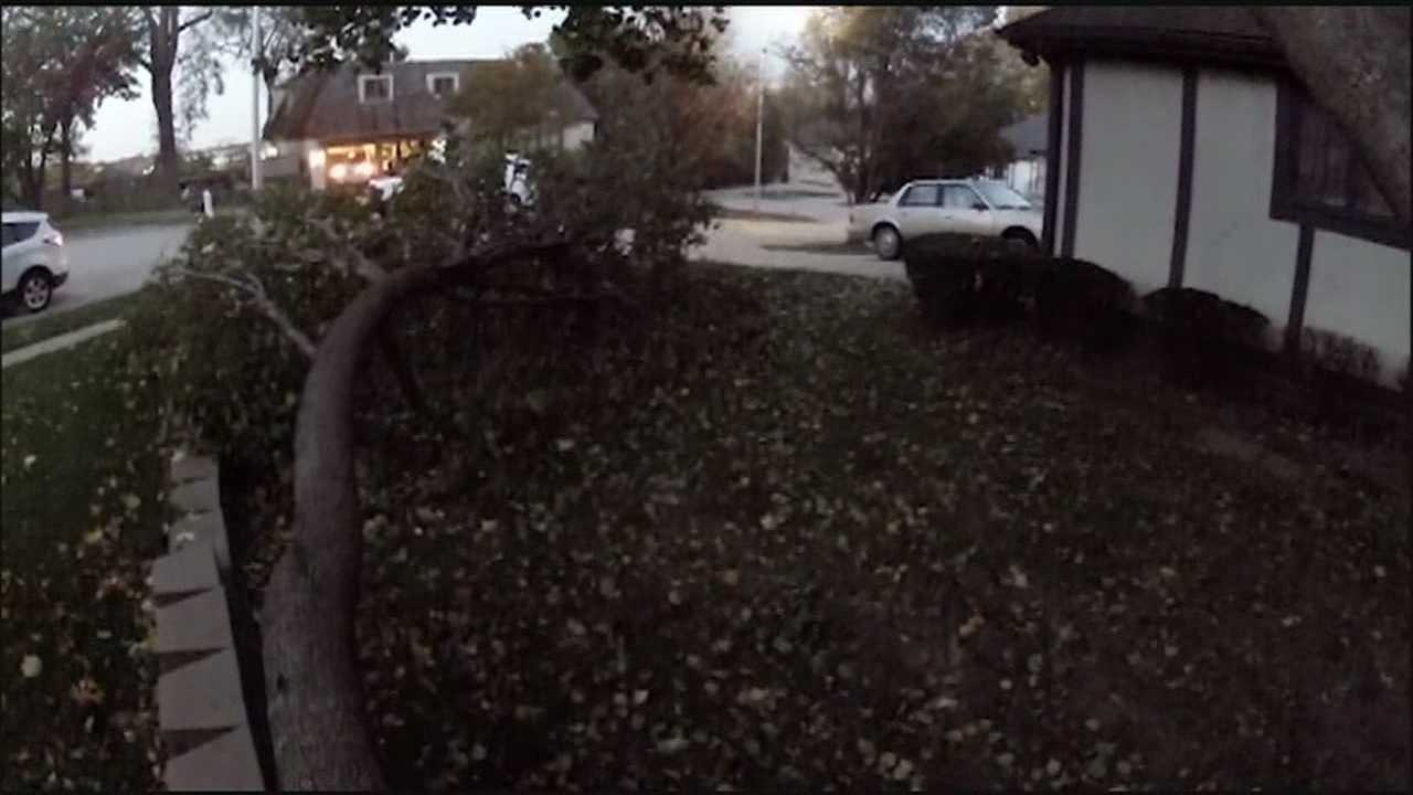 Some people in the Kansas City area who lost power on a windy Wednesday afternoon said they'd just have to wait until crews were able to get their lights back on.
