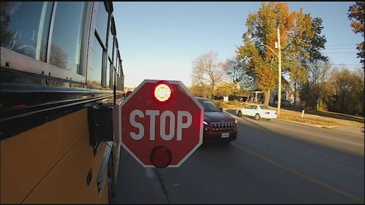 KMBC 9 News attaches GoPro cameras to buses in the Independence School District and finds that drivers often put young bus passengers at risk.