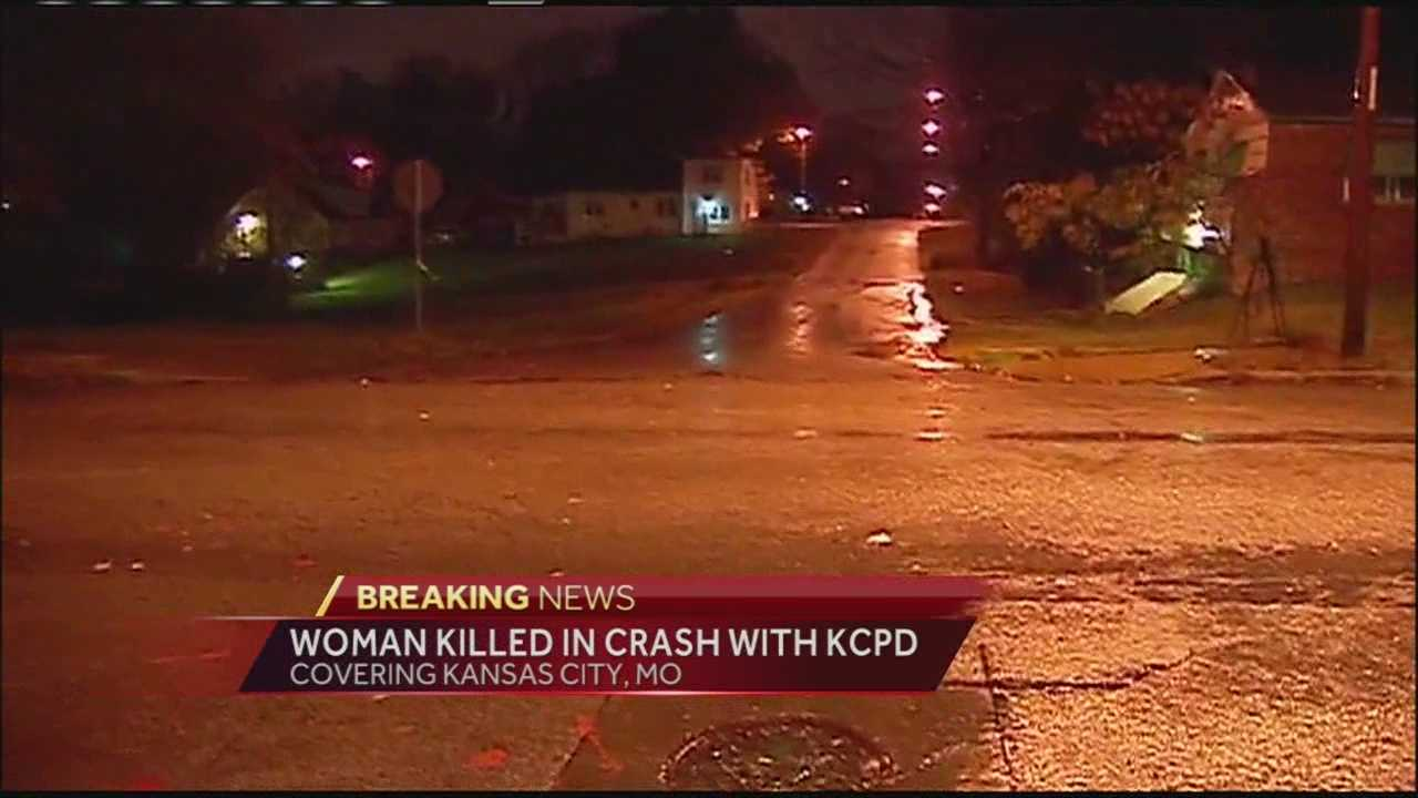 Woman killed in accident involving KCPD