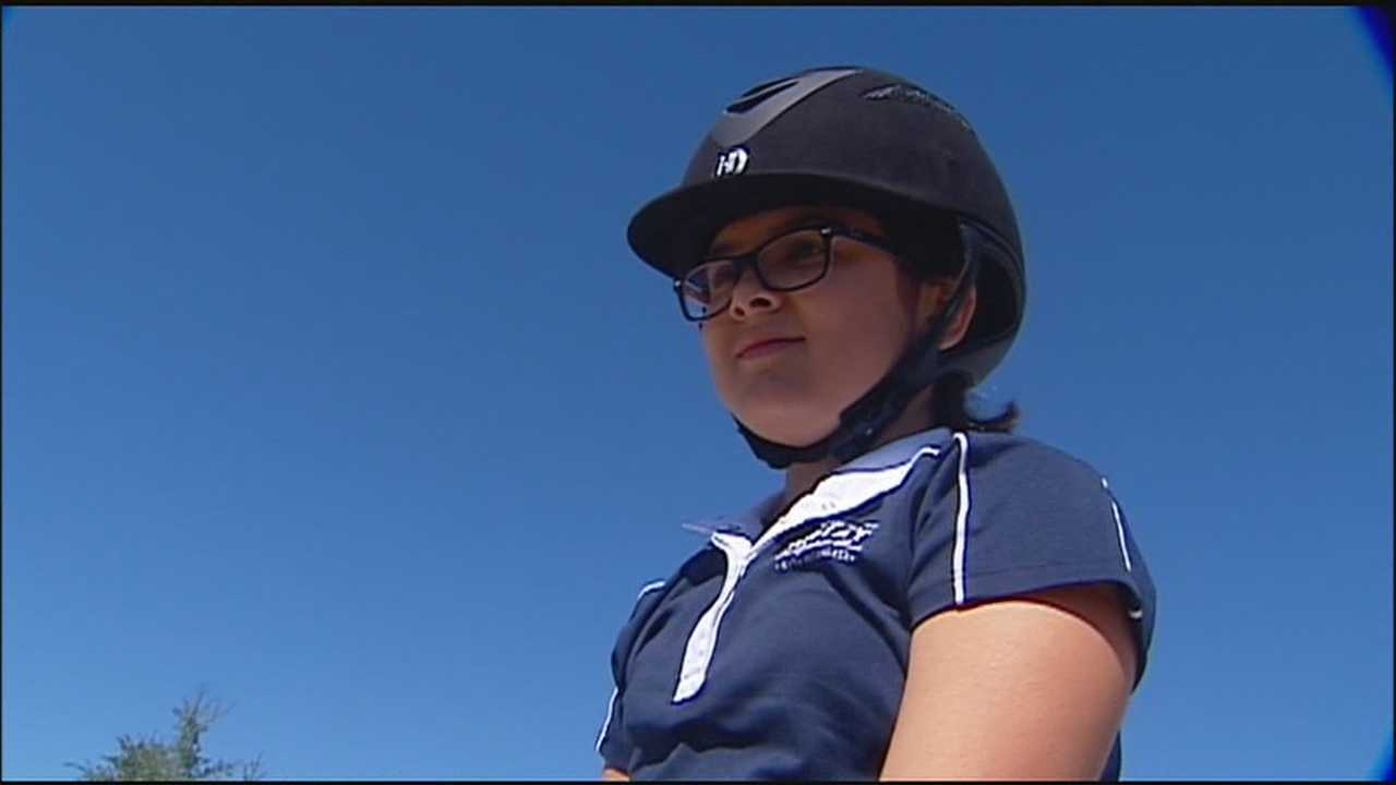 A girl who nearly lost her life in a freak go-kart accident has made a recovery that some are calling a miracle.