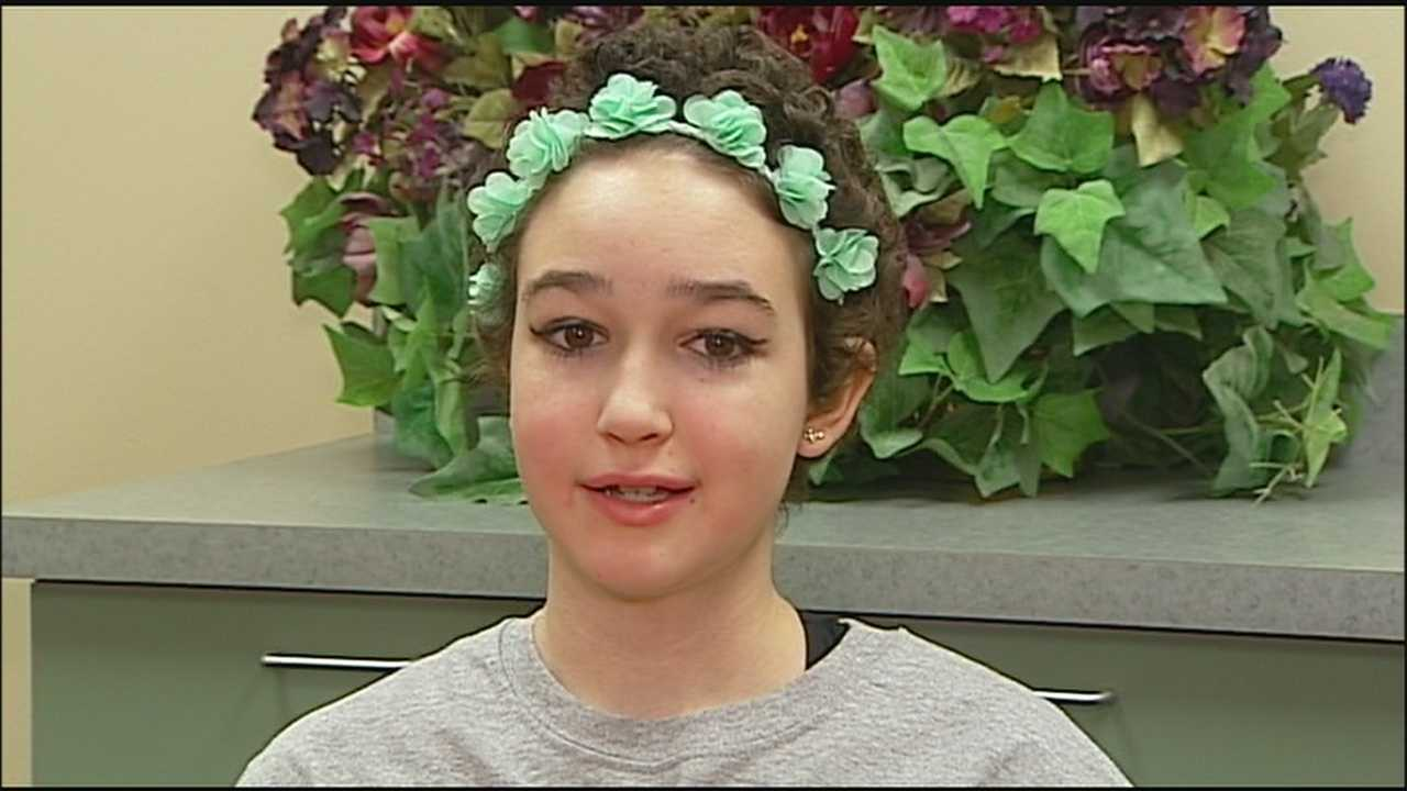Friends, family members and the community are rallying around a middle school student battling cancer for the second time.