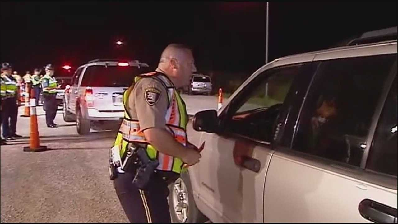 Police across the Kansas City metropolitan area will be out in force Wednesday and throughout the holiday weekend to make sure impaired drivers aren't on the roads.