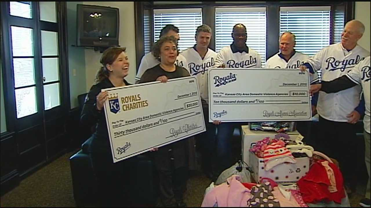 From an early education center to a baseball diamond to an Army post, the Kansas City Royals are in the middle of a weeklong program for giving.