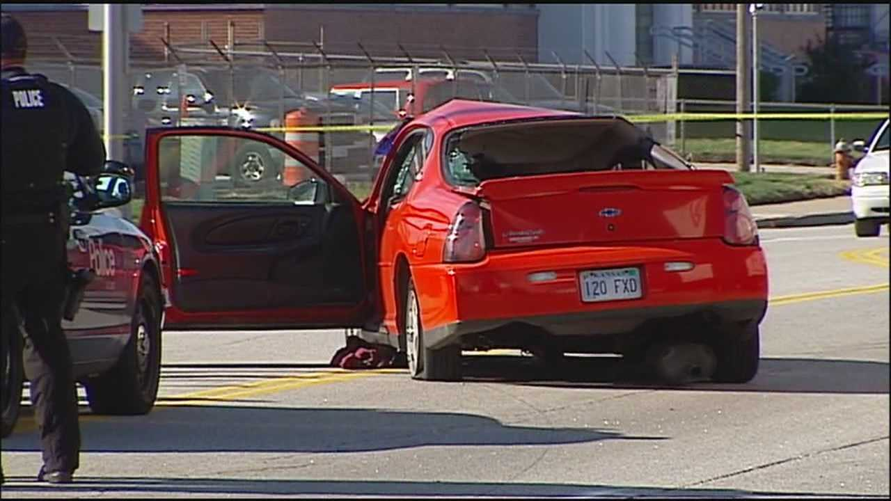 A police pursuit Tuesday morning that started with a passenger in a fleeing vehicle firing shots at officers ends in a crash in Kansas City, Kansas.