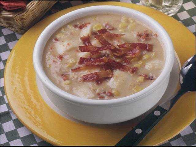 No. 10 -- Potato soup with bacon