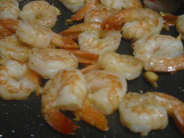 No. 9 -- Bacon-wrapped shrimp