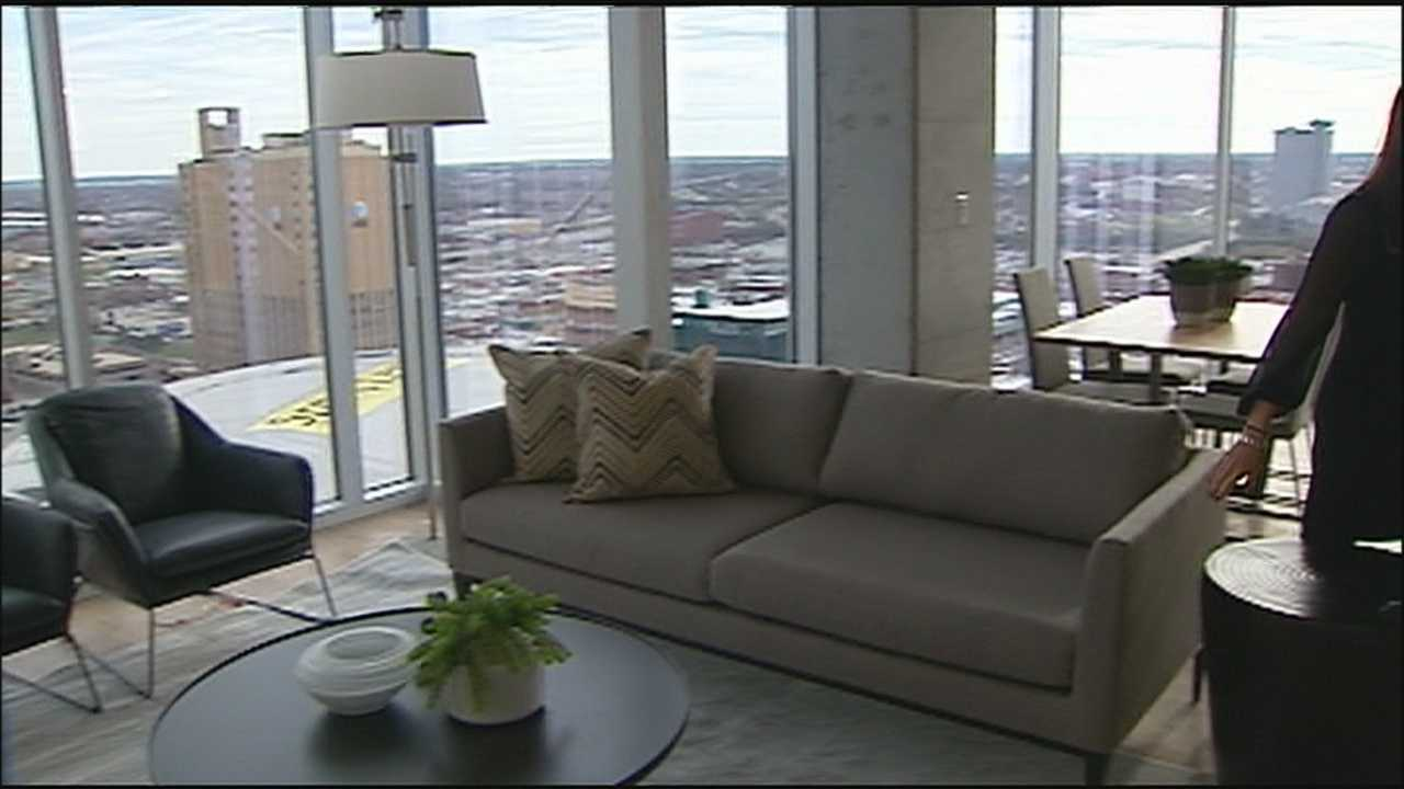 A vision of high-rise luxury apartments in the Kansas City Power & Light District has become reality with the opening of One Light.