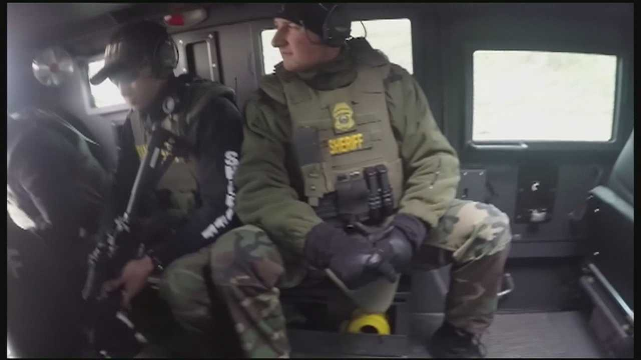 After two days of tactical training, Johnson County sheriff's deputies and the Kansas Bureau of Investigation said they're more prepared, should there be a terrorist attack or hostile situation in the region.