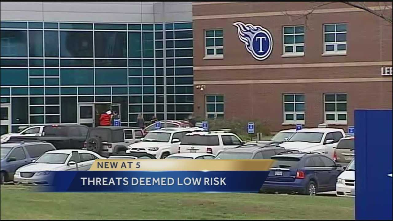 Threats -- all unfounded -- were reported at three more schools in the Kansas City metropolitan area Thursday, a problem that's been going on all week.
