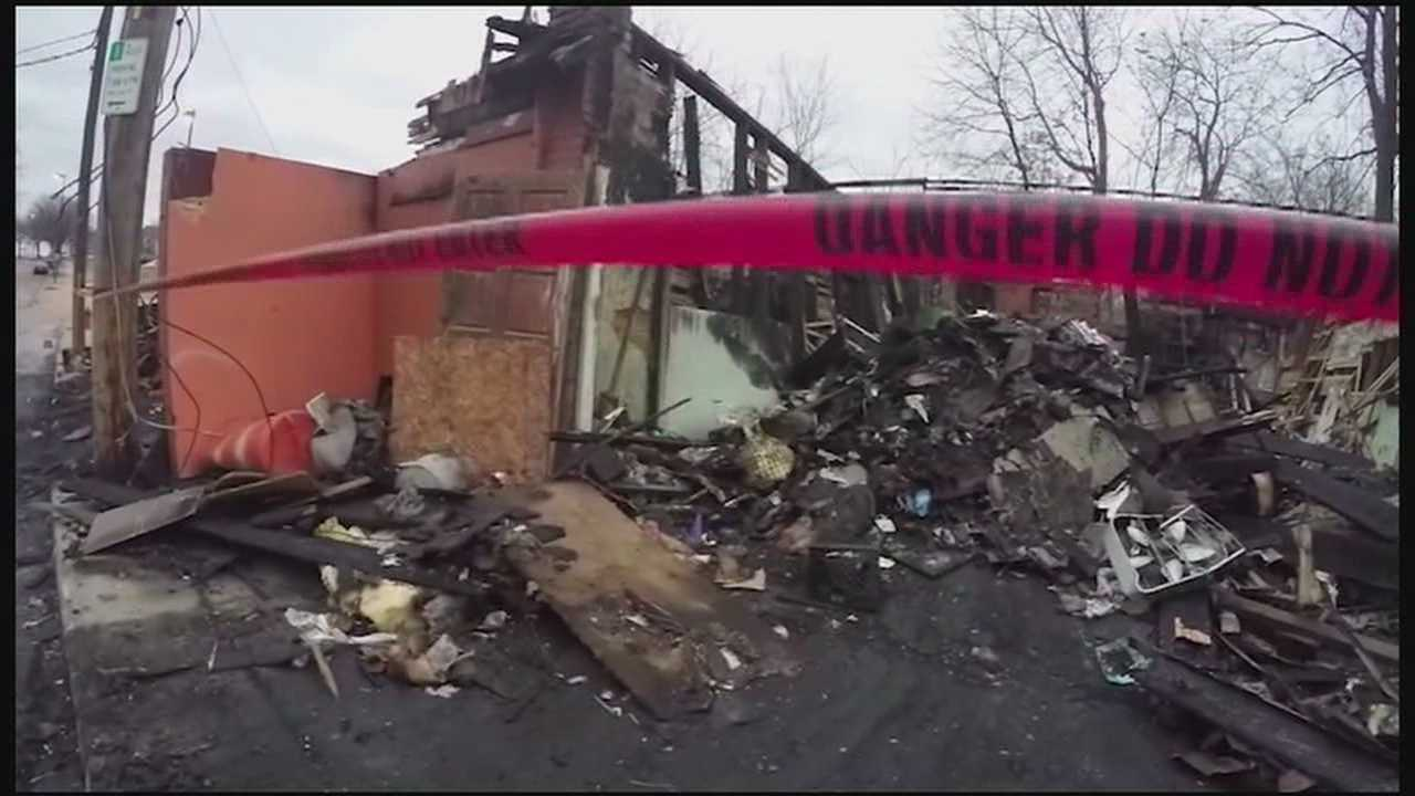A fire that appears to have claimed the life of a man in his 70s also caused extensive damage to several Kansas City businesses, including a popular Mexican restaurant.