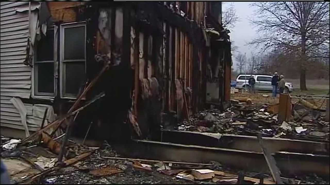 A fast-moving fire destroyed a Lone Jack family's home, leaving them with nearly nothing just days before Christmas.