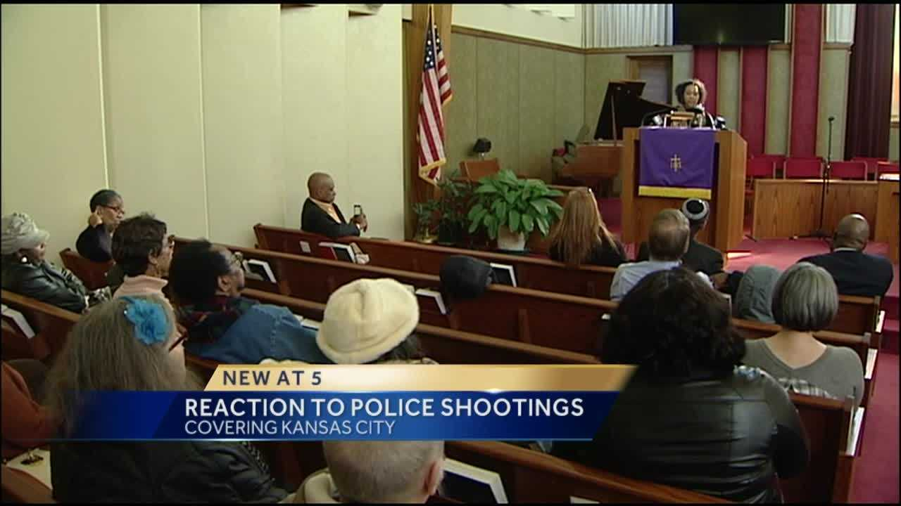 A Kansas City organization is taking a stand against police shootings.
