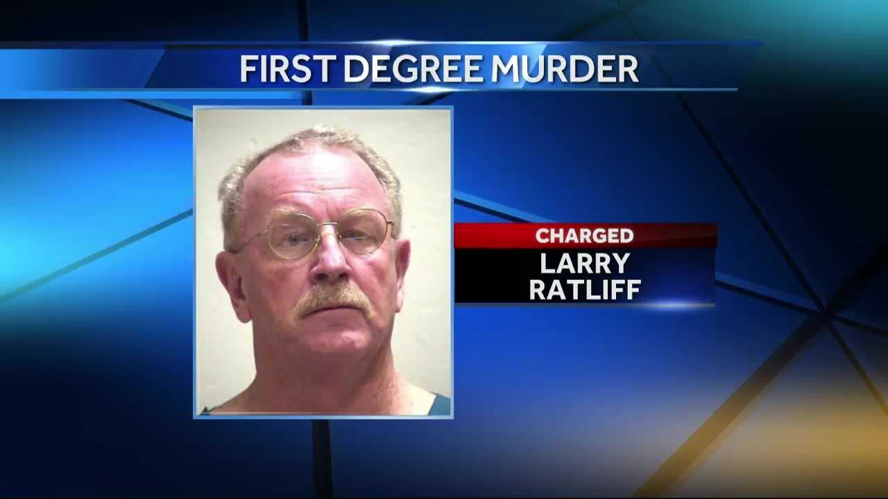 A Grain Valley man has been charged with first-degree murder in the stabbing death of his wife, police said.